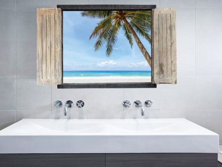 Wandtattoo Das Fenster zum Meer