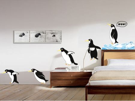 Wall Sticker Penguins