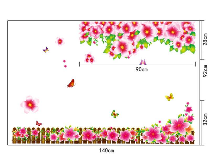 Wandtattoo Blumenwiese AS