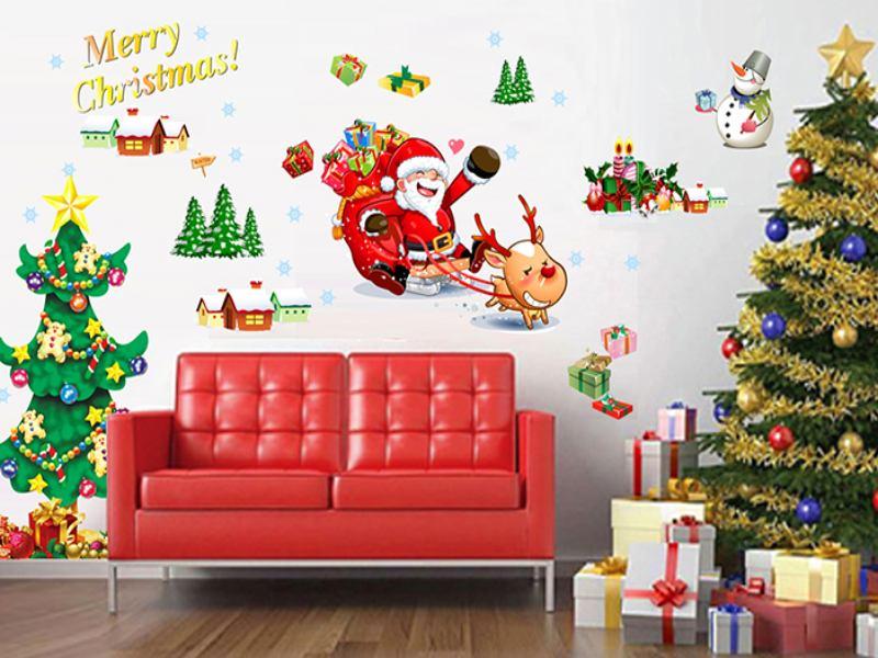 Wandtattoo Christmas