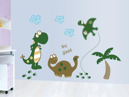 Wandtattoo Lustige Dinos