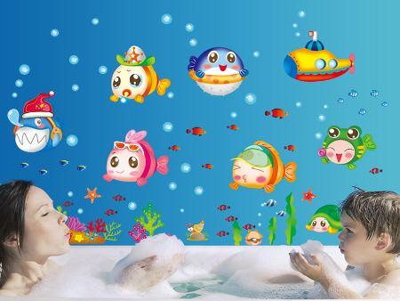 Wandtattoo Babyfische
