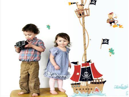 Wandtattoo Das Piratenschiff