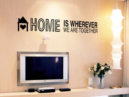 Wall Sticker HOME
