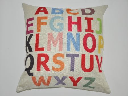 Cushion Cover Alphabet
