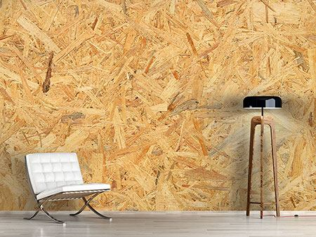 Photo Wallpaper Pressed Wood