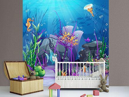 Fototapete kinderzimmer unterwasserwelt  Fototapeten Kinderzimmer günstig online kaufen