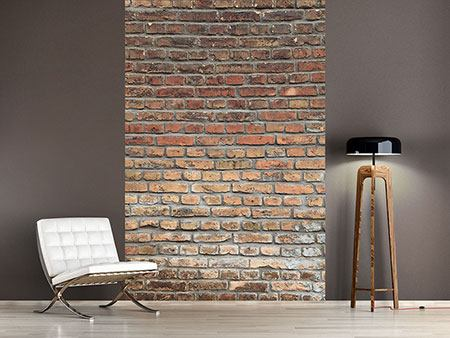 Photo Wallpaper Red Brick Wall