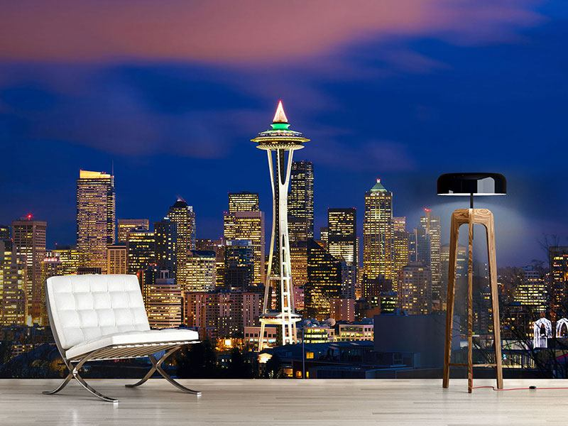 Fotomurale Skyline di Seattle